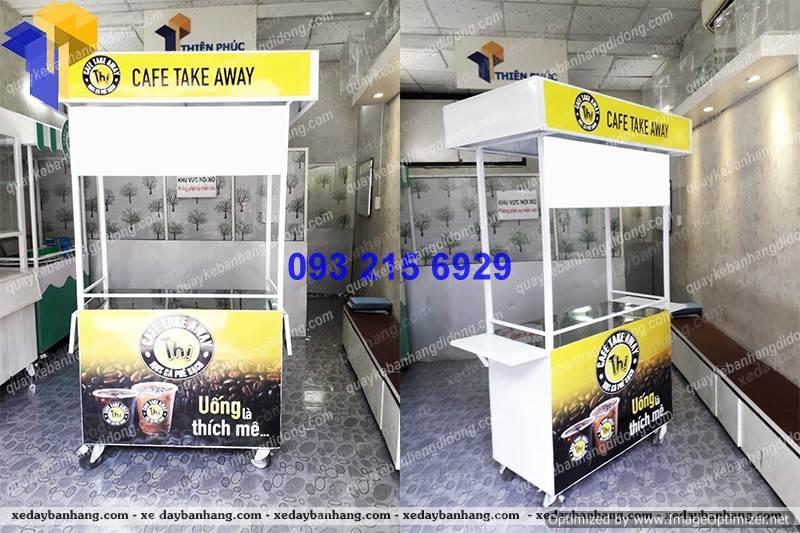 xe day ban hang rong cafe