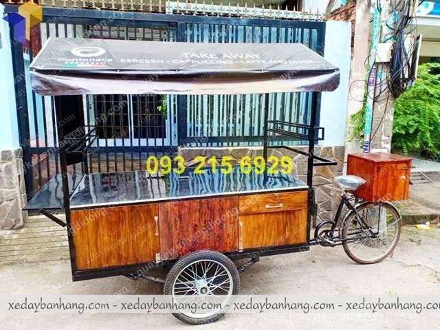 xe ban cafe luu dong
