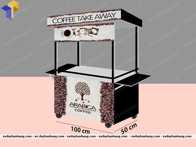 xe cà phê vỉa hè