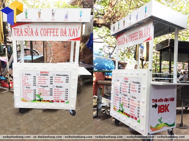 xe đẩy bán cà phê hcm