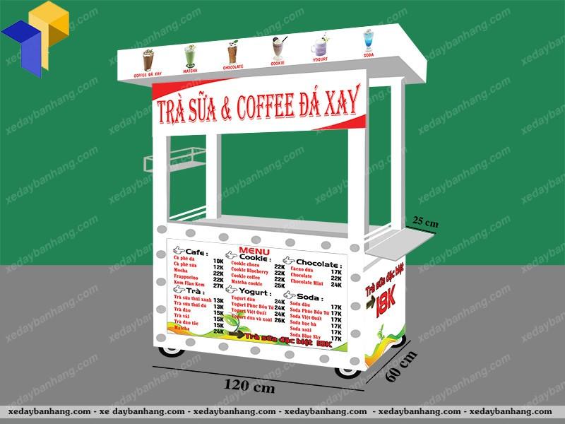 xe cà phê đà xay