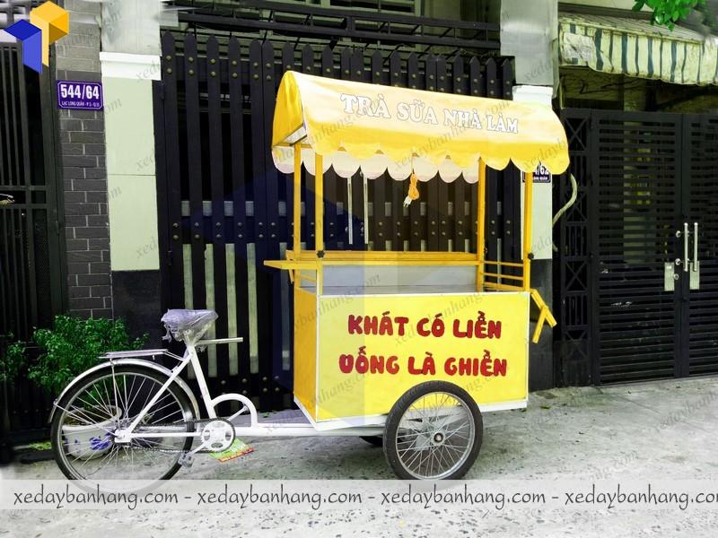 xe đạp bán hàng