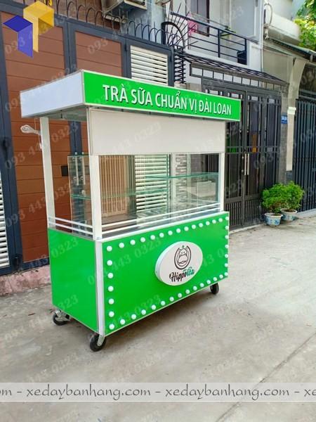 xưởng sản xuất xe bán trà sữa